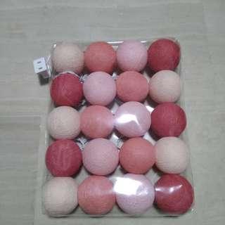 LED Cotton Balls