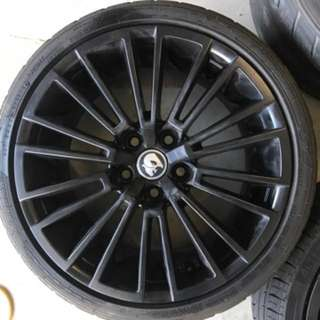 "E2 SENATOR WHEELS 19"" GENUINE VB-VZ commodore"