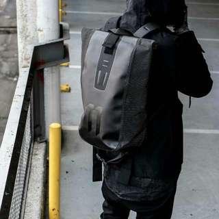11 BY BBS black velocity backpack bag