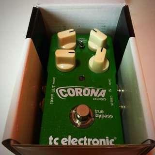 TC Electronics Corona Chorus Guitar Effects Pedal