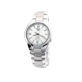 Seiko Snk619k1 Snk619k Snk619 Automatic Mens Dress Silver Dial 50m Watch