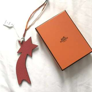BNIB Authentic Hermes Petit H Shooting Star Charm
