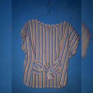 blouse rainbow