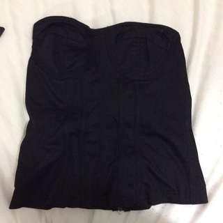 Dotti black corset