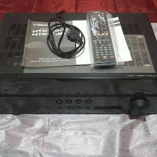 yamaha htr 4066 natural sound av receiver with 1 audio return channel.   Free yamaha yba-11 bluetooth.