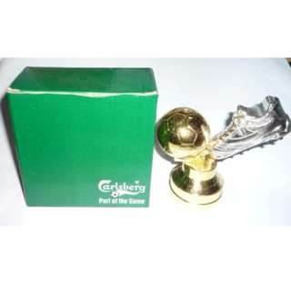 CARLSBERG Beer LIGHTER Part of the Game FIFA World Cup 2006 Ball and Boot