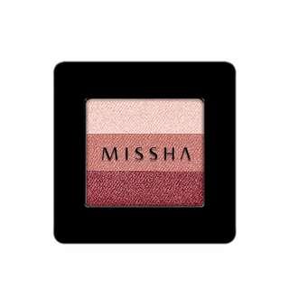 MISSHA 三色眼影 16 Rose Fondue 玫瑰奶油