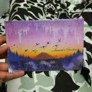 Postcard Asli Dari Jepang