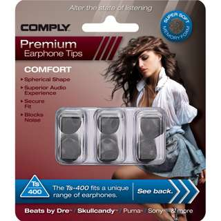 Comply Foam Tips Ts 400 Comfort (Small)