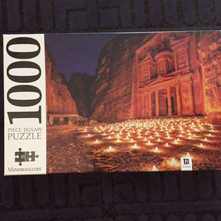 1000 piece puzzle for framing
