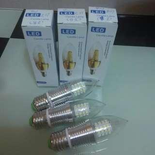 LED   bulb   燈膽   燈泡   9W   E27   ($18 each)