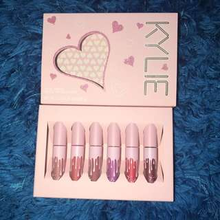 Kylie Cosmetics Birthday Collection Mini Kit Matte liquid lipsticks