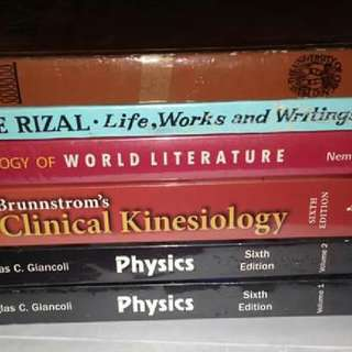 Pre-lovedPhysical Therapy Books