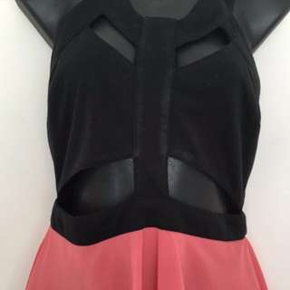 Cut Out Party Dress Size12