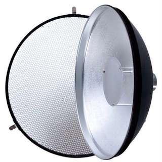 Godox AD-S3 Beauty Dish With Honeycomb Grid Light Soft Cloth For WITSTRO AD180 AD360 Speedlite Light Flash Studio Accessories