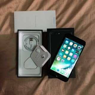 iPhone 7 Plus Jet black 128 GB