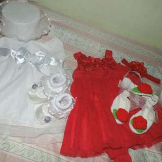 Baptismal Dress Set. & Formal Dress Set