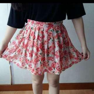 Jrep floral skirt