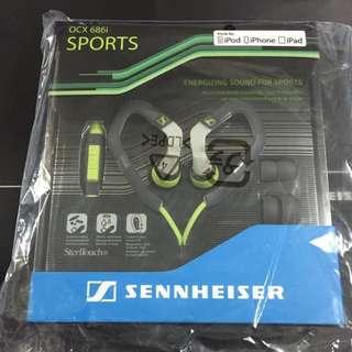[Price reduced!]BNIB Sennheiser OCX 686i Sports Ear Canal Phones