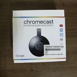 Google Chromecast V3 電視棒2代