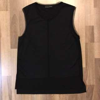 Zara W&B black top