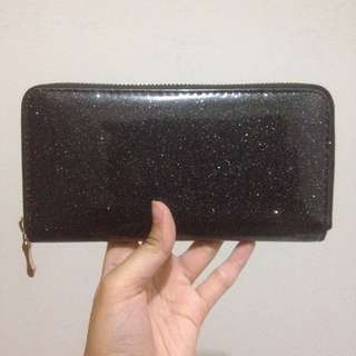 NEWLOOK Black Glitter Wallet (Dompet)