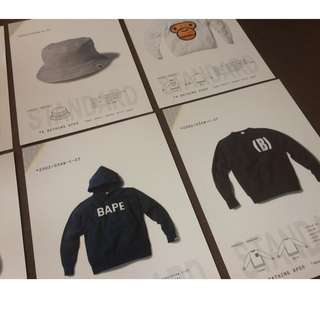 Bape mania clothing collection large cards nego