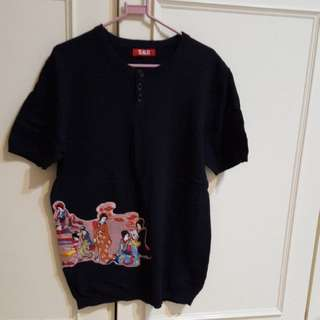 復古風針織衫