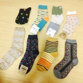 圖騰各式長襪