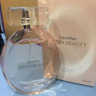 Calvin Klein Sheer Beauty EDT for Ladies