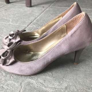 粉膚色高跟鞋24號