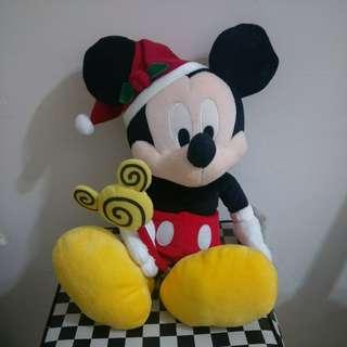 米奇老鼠大公仔 聖誕造型