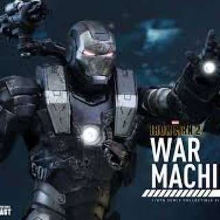 Hot toys war machine diecast mms331 -d13 sealed in retail box