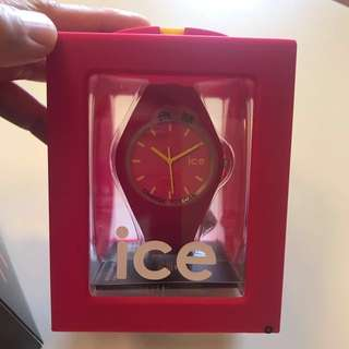 Ice watch pink colour lady size