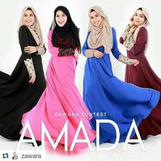 Amada Dress By Zawara
