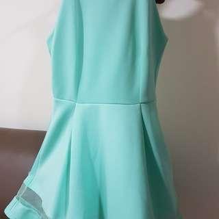 Turquoise blue PurPur dress for sale