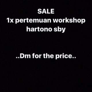 Hartono Baking Workshop