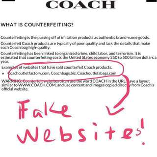 Interested in my Coach handbags? Please read before ask!