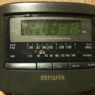AIWA radio clock