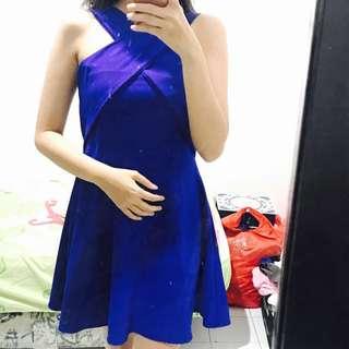 BLUE-X DRESS