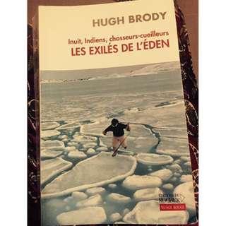 Les exilés de l'éden / Hugh Brody / 15$