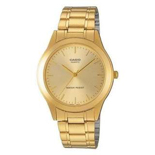 Casio MTP-1128N-9A Gold Plated Watch for Men - COD + FREE SHIPPING