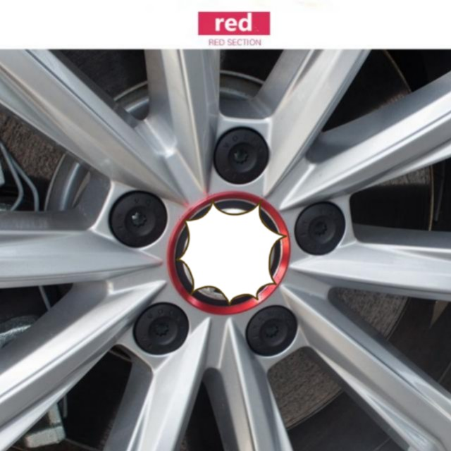 4 Pcslot Car Styling For Volkswagen Vw 60mm 6cm Aluminum