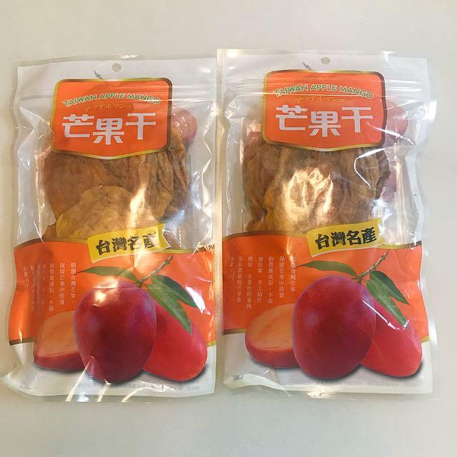 新鮮芒果乾(剩下一包)賣到9/30