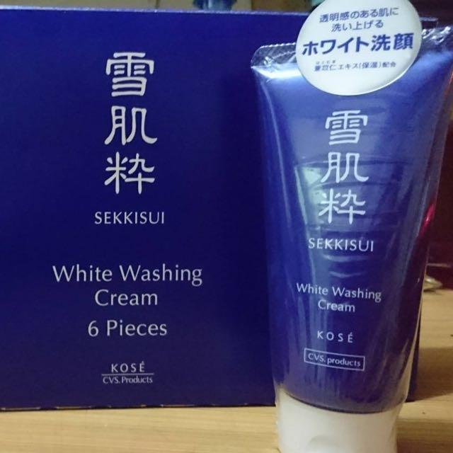 日本 雪肌萃 洗面乳