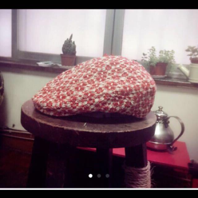 復古優雅 造型帽 鴨舌帽 很美