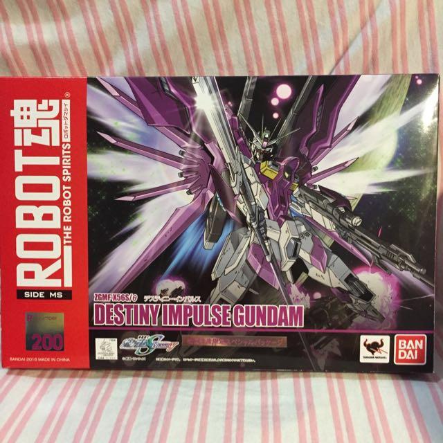 日本帶回 全新 Robot魂 命運脈衝 鋼彈