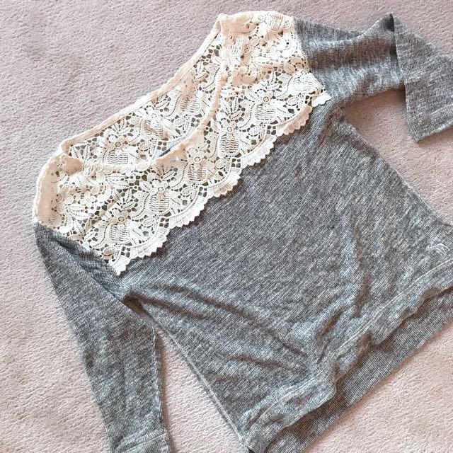 Abercrombie Crochet Top