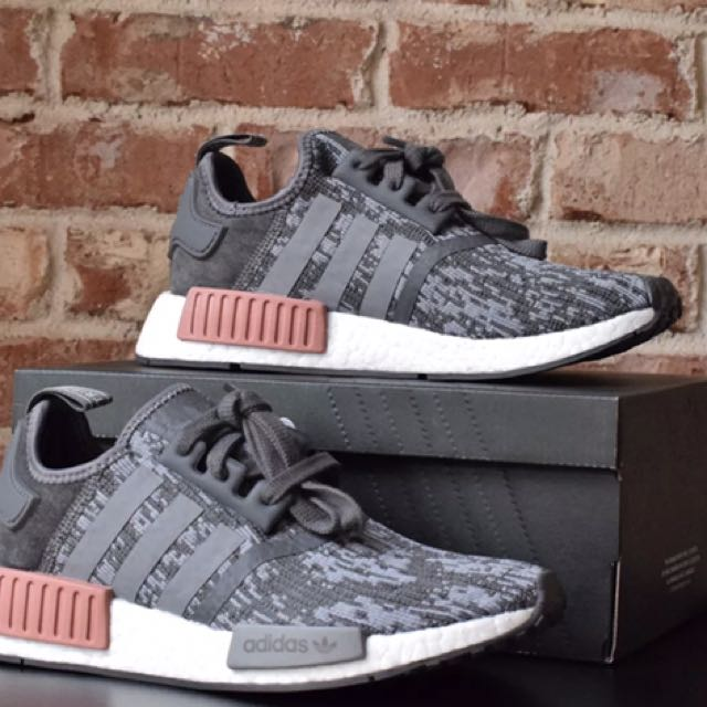 Adidas SNEAKERS NMD R1 W Size 11US GRIGIO-CIPRIA BY9647