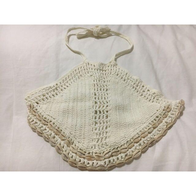 Andi Bagus crochet top